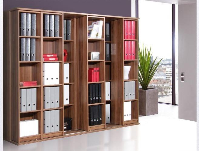 schieberegal oliver regal b roregal b ro aktenschrank. Black Bedroom Furniture Sets. Home Design Ideas
