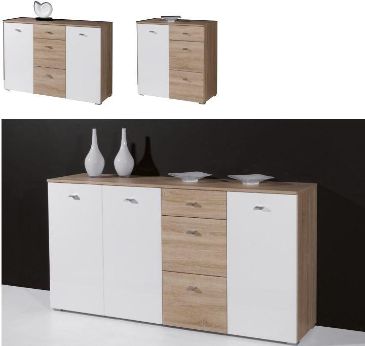 kommode paula sideboard schrank lowboard regal anrichte. Black Bedroom Furniture Sets. Home Design Ideas