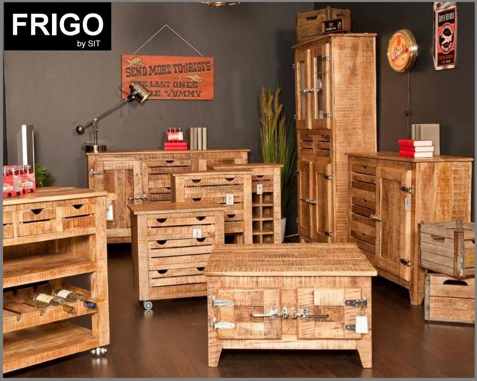 frigo esstisch 140 cm tisch esszimmertisch k chentisch mangoholz massiv ebay. Black Bedroom Furniture Sets. Home Design Ideas