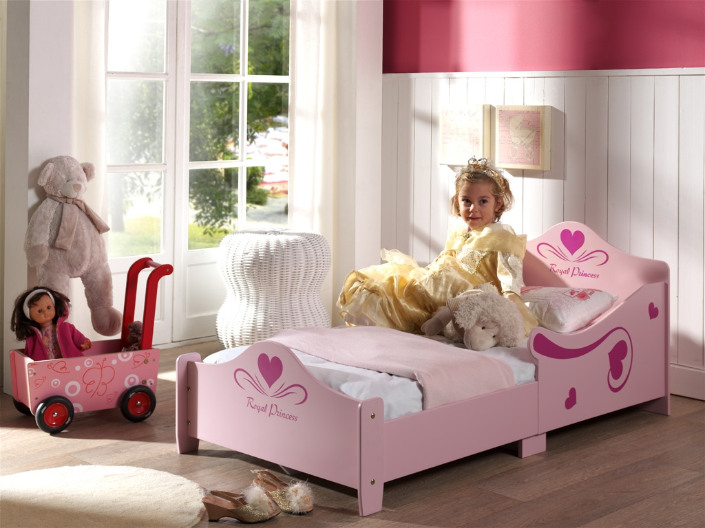 bett princess kinderbett kinderzimmer rosa kids teens. Black Bedroom Furniture Sets. Home Design Ideas