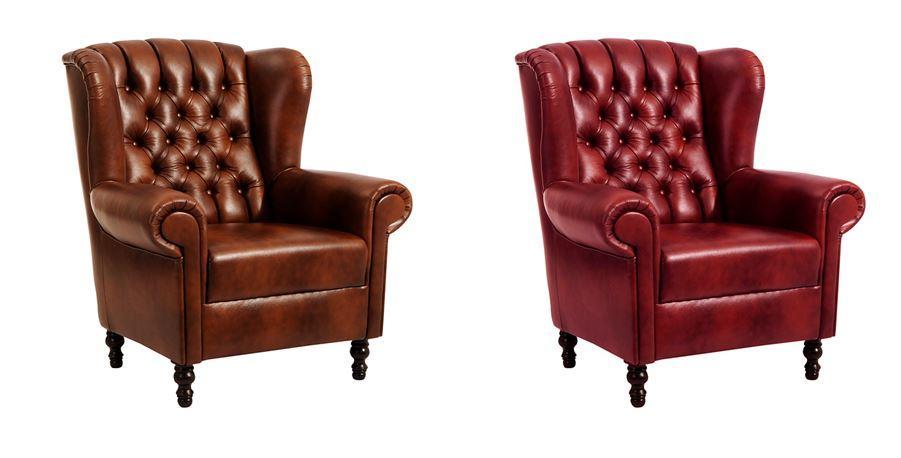 crosby einzelsessel chesterfield sessel einzelsofa leder. Black Bedroom Furniture Sets. Home Design Ideas