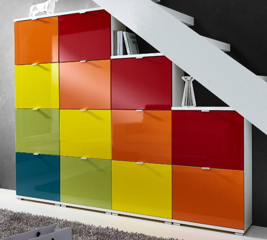schuhschrank corinna2 schuhschranksystem schrank schuhe kommode ebay. Black Bedroom Furniture Sets. Home Design Ideas