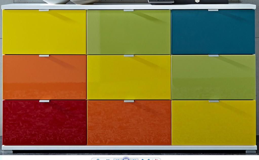 kommode corinna schranksystem schrank sideboard ebay. Black Bedroom Furniture Sets. Home Design Ideas