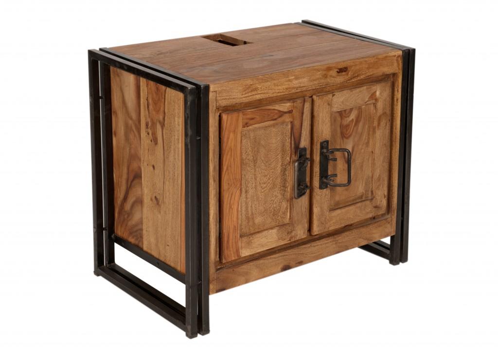 panama unterschrank m bel schrank bad holz metall ebay. Black Bedroom Furniture Sets. Home Design Ideas