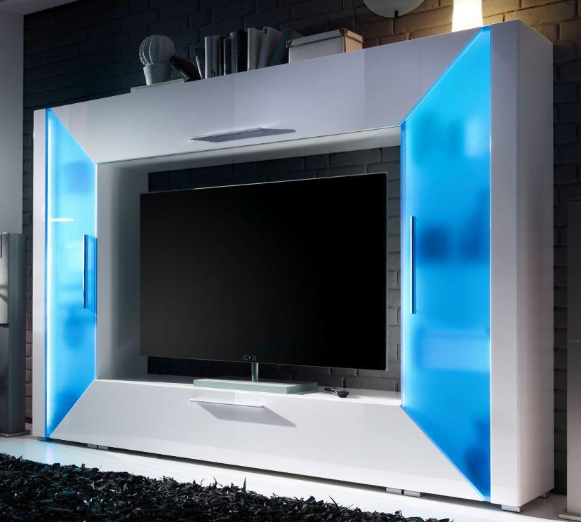 Awesome wohnzimmer weis blau gallery - Wohnzimmer blau beige ...
