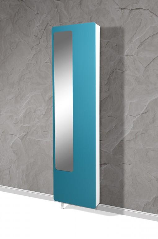 drehschrank volley schuhschrank mehrzweckschrank spiegel wei petrol matt ebay. Black Bedroom Furniture Sets. Home Design Ideas