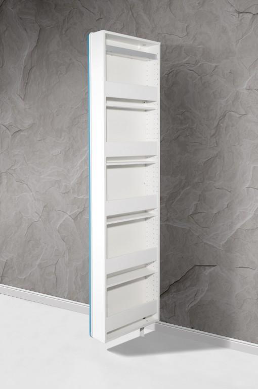 Drehschrank volley schuhschrank mehrzweckschrank spiegel for Badezimmer drehschrank