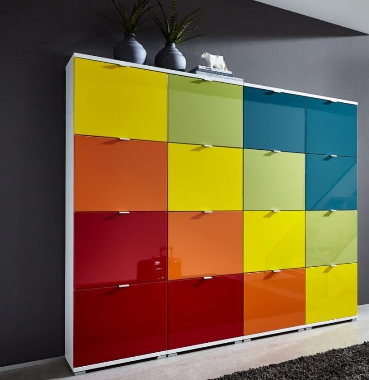 schuhschrank corinna1 schuhschranksystem schrank schuhe kommode ebay. Black Bedroom Furniture Sets. Home Design Ideas