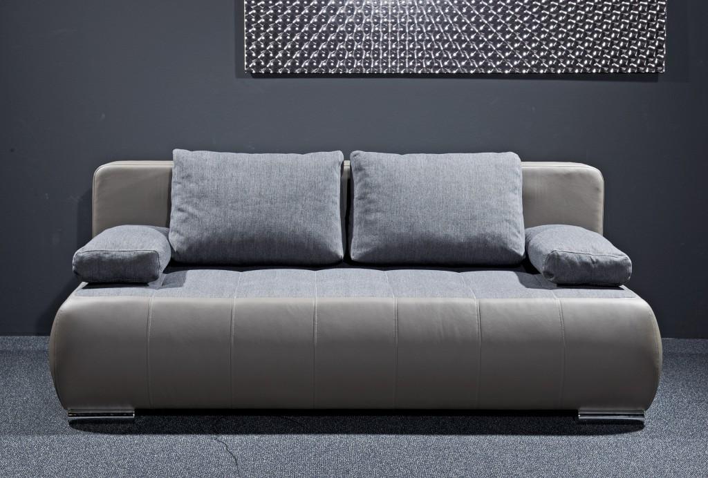 Schlafsofa couch sofa lederoptik schlaffunktion for Wohnlandschaft lederoptik