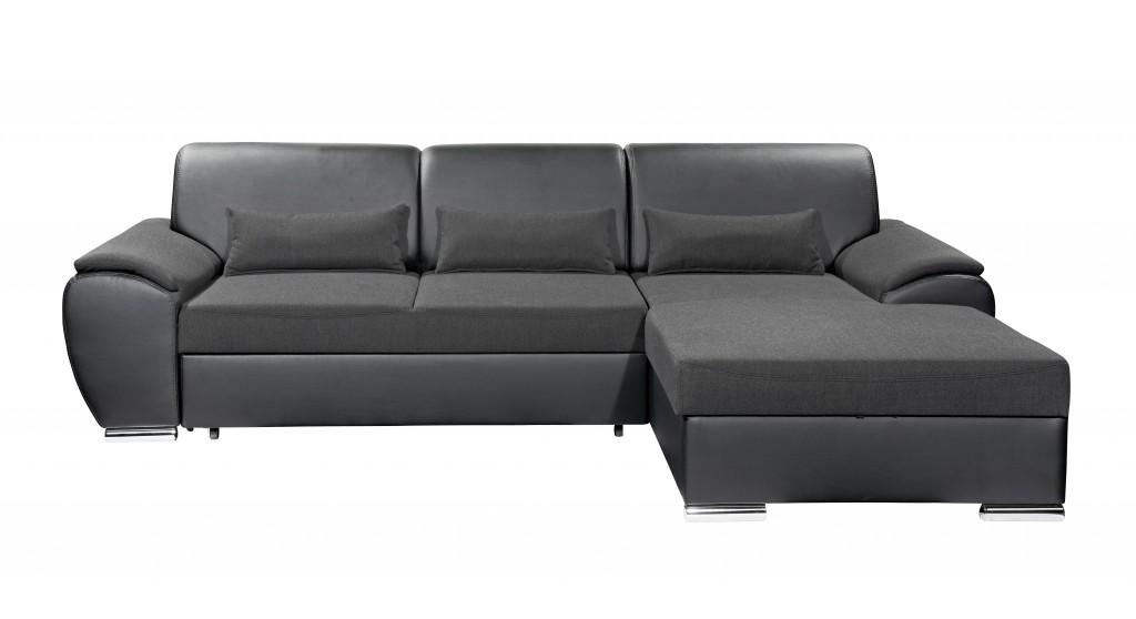 Maryland ecksofa eckgarnitur couch sofa lederoptik for Wohnlandschaft lederoptik