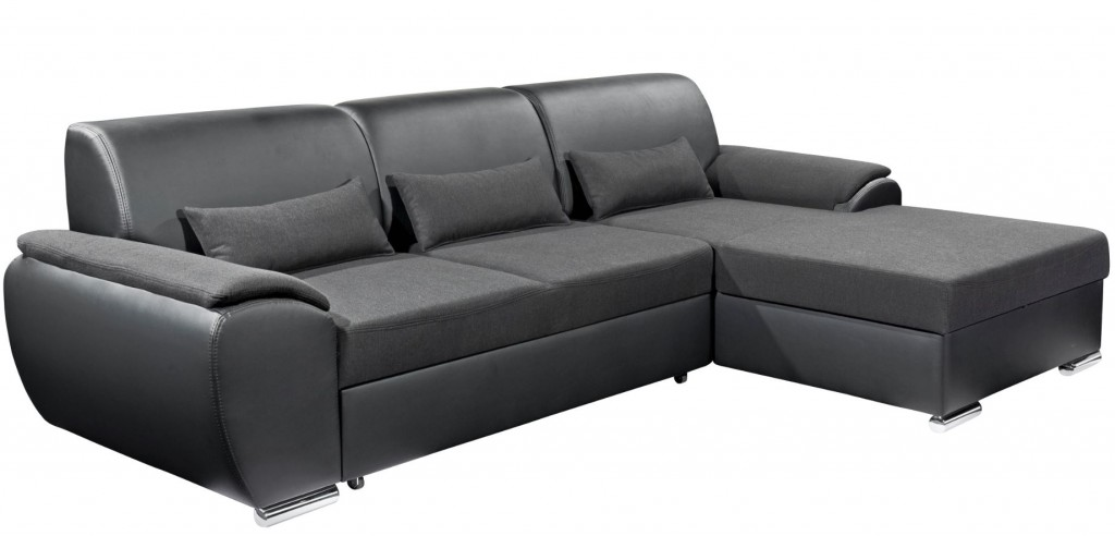 Maryland ecksofa eckgarnitur couch sofa lederoptik for Wohnlandschaft lederoptik