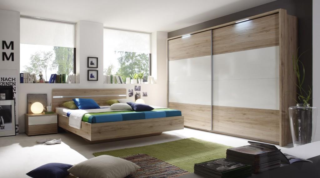 Schlafzimmer pluto komplettset kleiderschrank inklusive for Schlafzimmer komplettset