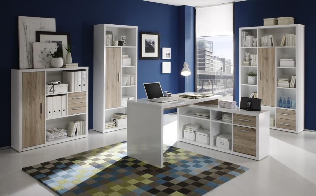 eckschreibtisch winkelkombination tokyo homeoffice b ro schreibtisch ebay. Black Bedroom Furniture Sets. Home Design Ideas