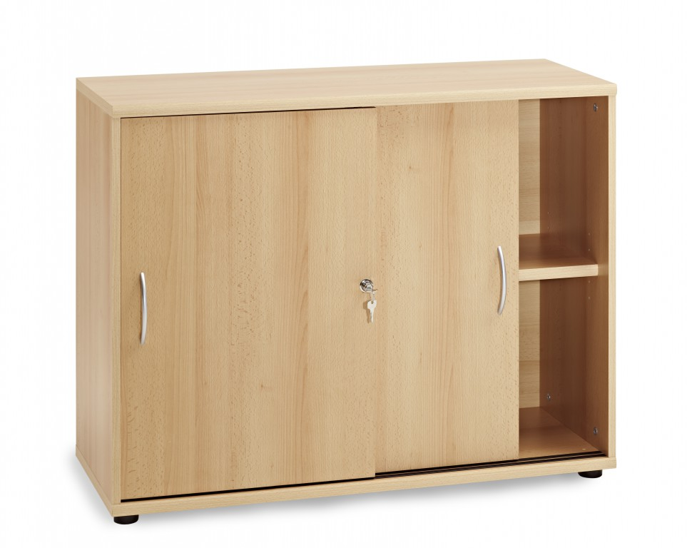 aktenschrank schiebet renschrank b roschrank 2 oh schrank buche b ro stauraum b roschr nke. Black Bedroom Furniture Sets. Home Design Ideas