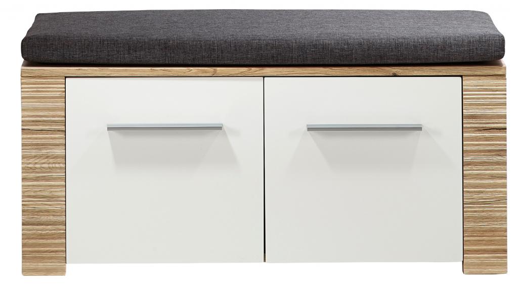contest x sitzbank san remo eiche hell dekor bank garderobenbank schuhbank ebay. Black Bedroom Furniture Sets. Home Design Ideas