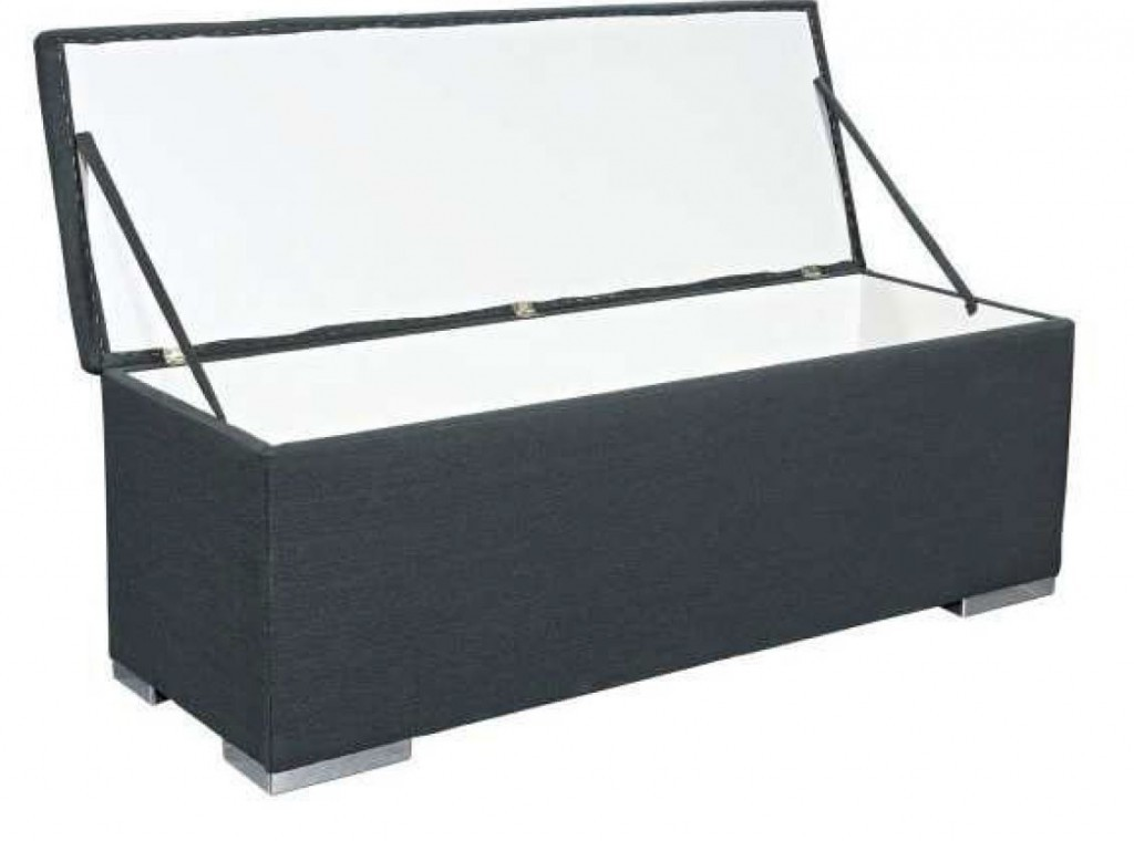 truhe sitzbank chest gepolstert sitztruhe aufbewahrungsbox. Black Bedroom Furniture Sets. Home Design Ideas