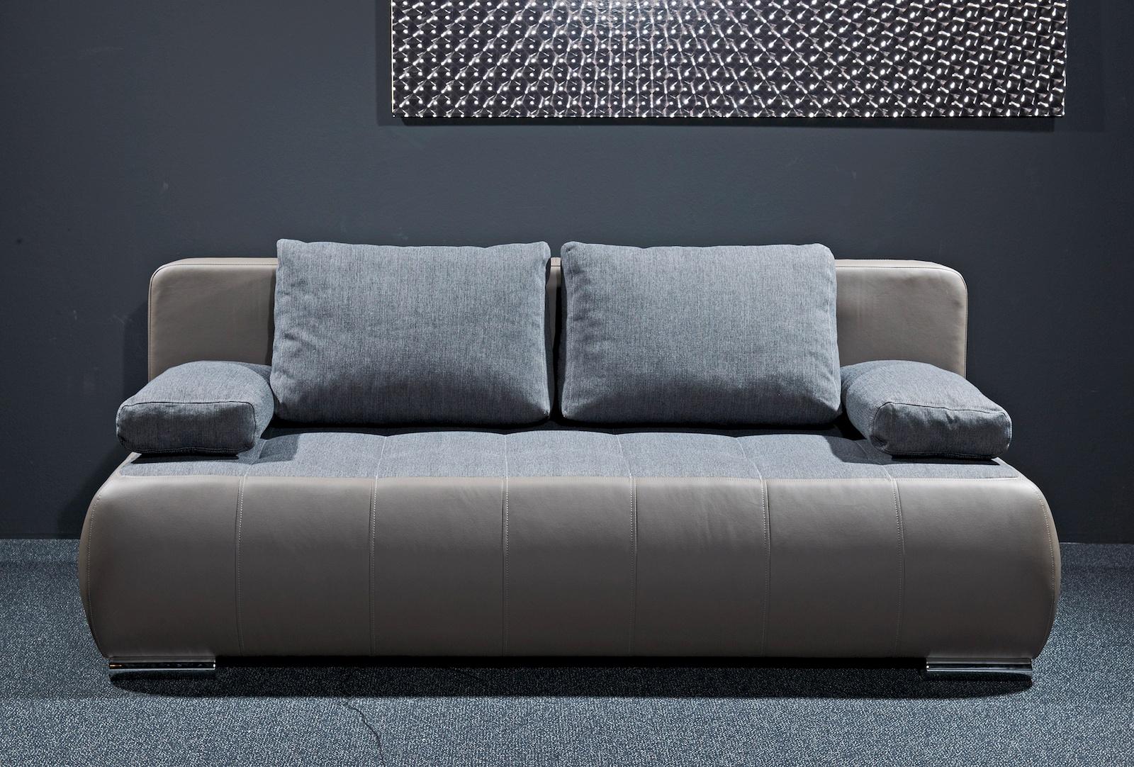 Sonderpreis schlafsofa ohio couch sofa lederoptik for Sofa schlafcouch