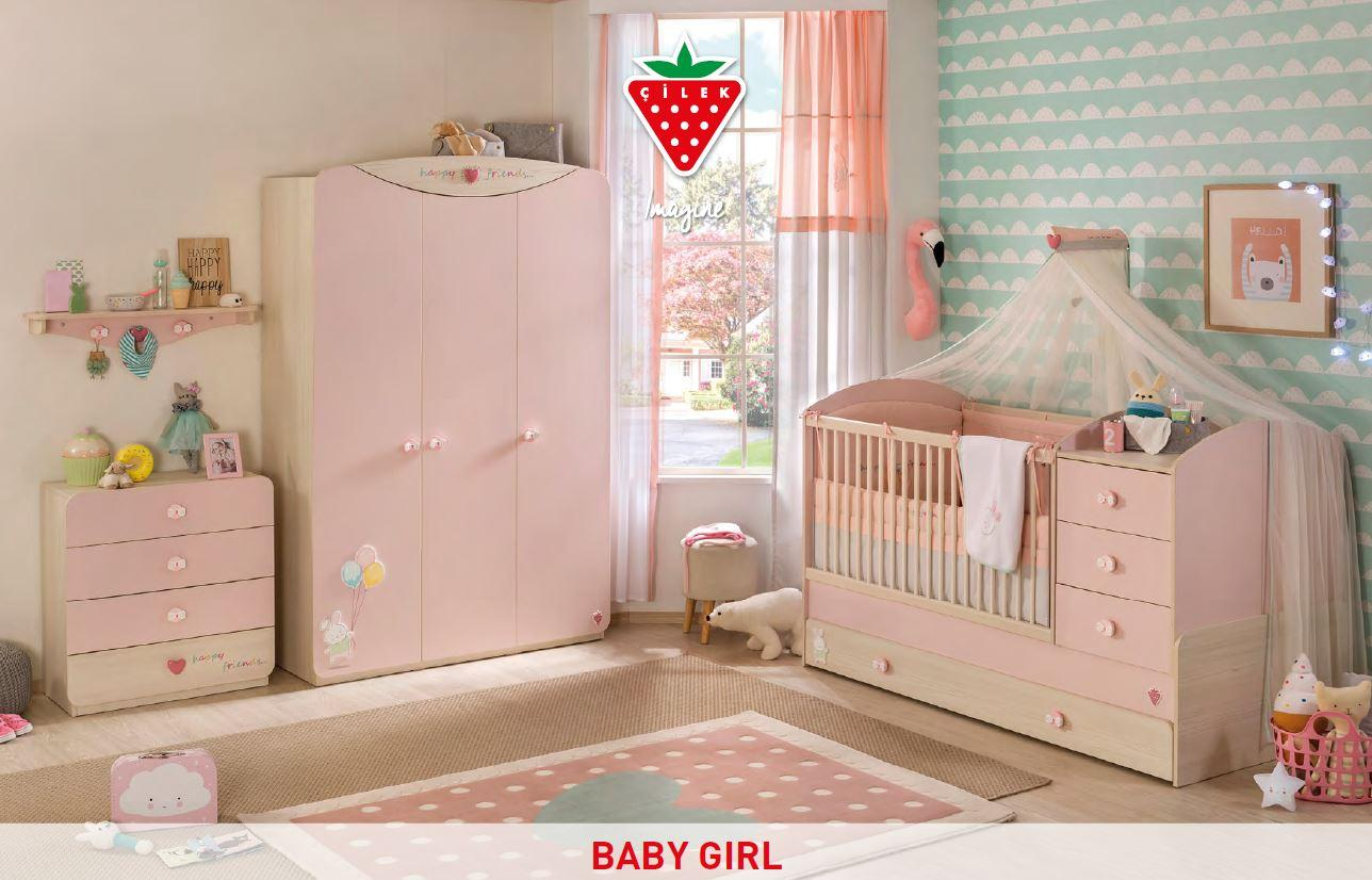 cilek baby girl deckenlampe h ngelampe lampe kinderzimmer. Black Bedroom Furniture Sets. Home Design Ideas