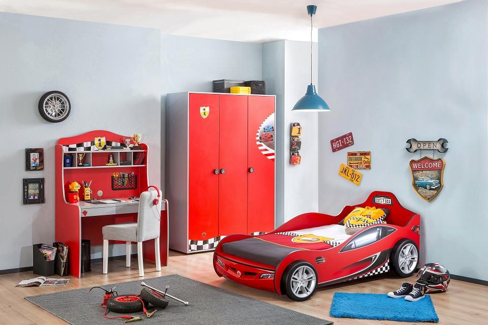 cilek racecup b cherregal regal standregal kinderregal rot. Black Bedroom Furniture Sets. Home Design Ideas