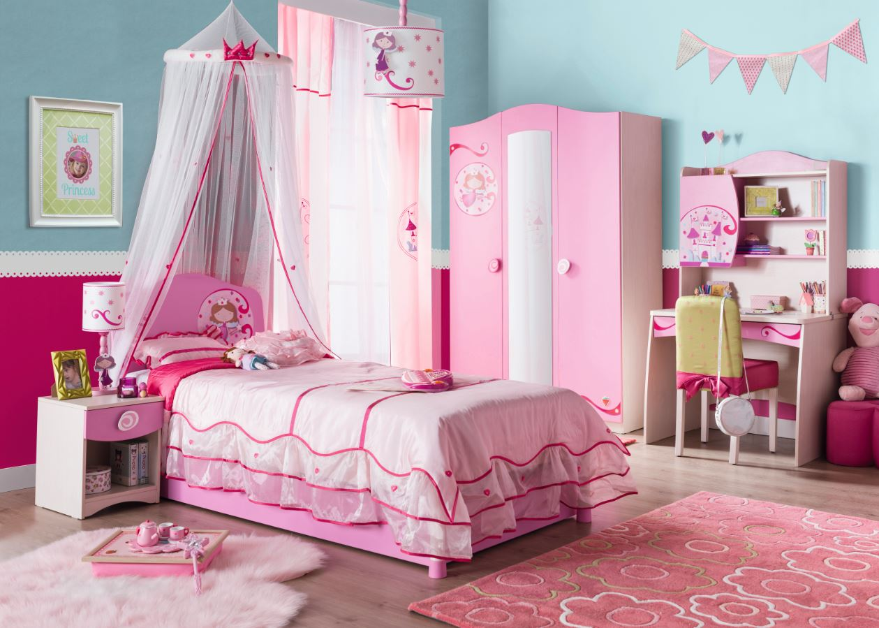 cilek princess deckenlampe wandlampe lampe rosa kids teens zubeh r accessoires lampen. Black Bedroom Furniture Sets. Home Design Ideas