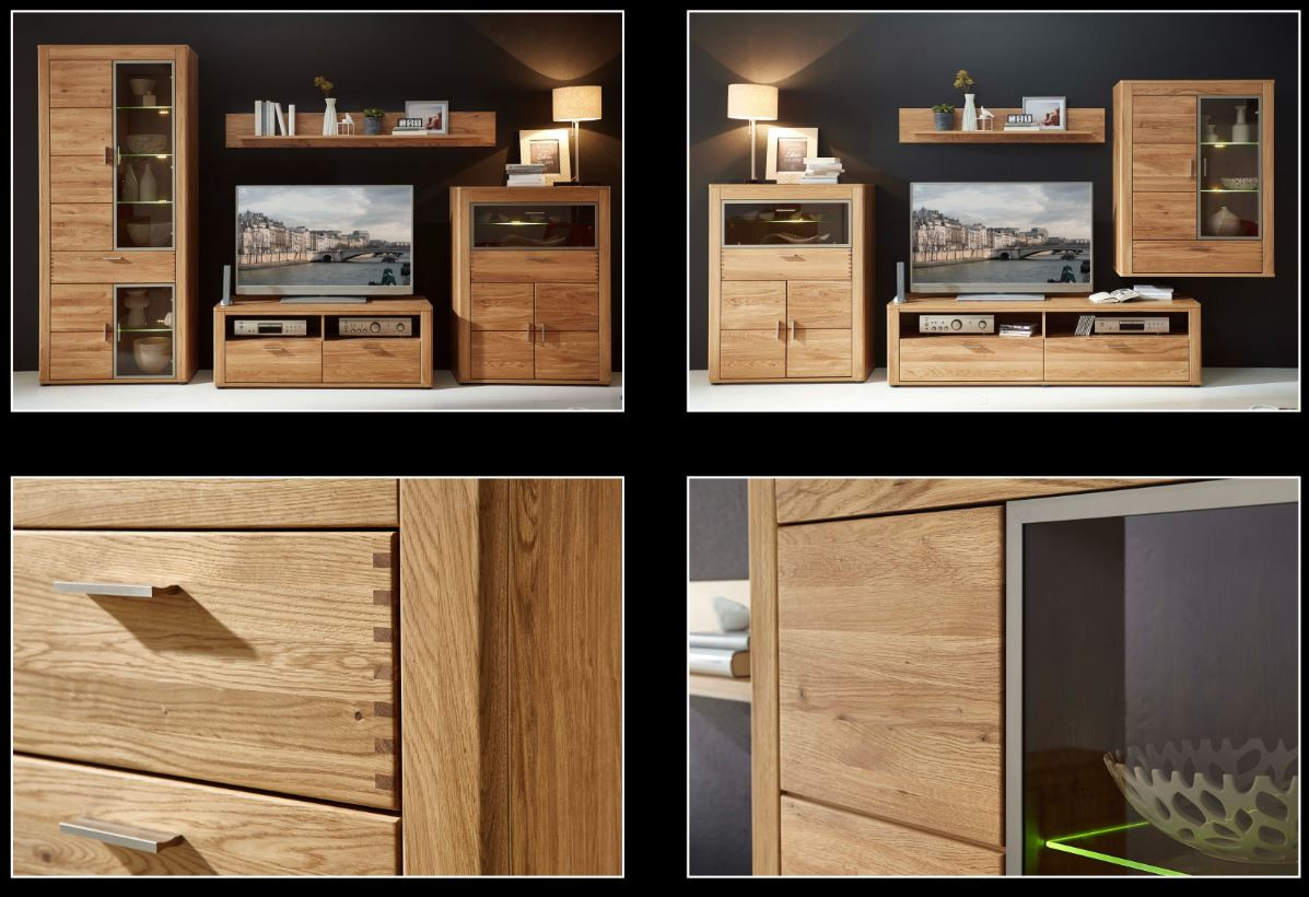 bergen tv m bel lowboard tv unterteil fernsehm bel wildeiche sch ner wohnen tv m bel. Black Bedroom Furniture Sets. Home Design Ideas