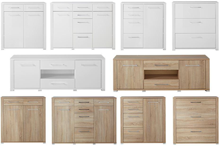 go lowboard tv m bel fernsehm bel eiche sonoma sch ner wohnen tv m bel. Black Bedroom Furniture Sets. Home Design Ideas