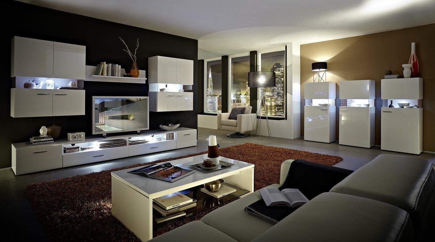orion vitrine vitrinenschrank wohnzimmer standvitrine schrank wei hochglanz sch ner wohnen. Black Bedroom Furniture Sets. Home Design Ideas