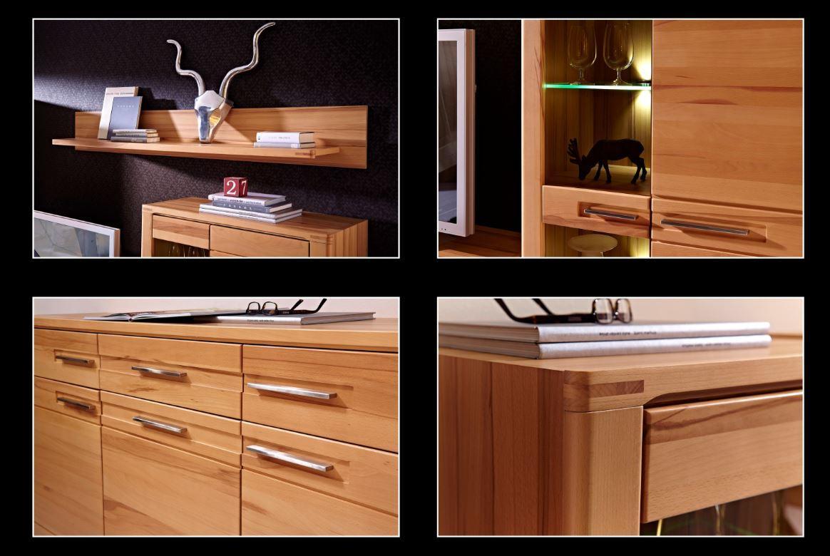 woodtree wohnzimmer komplettset wohnzimmerkombination wohnwand tv kombination sch ner wohnen. Black Bedroom Furniture Sets. Home Design Ideas
