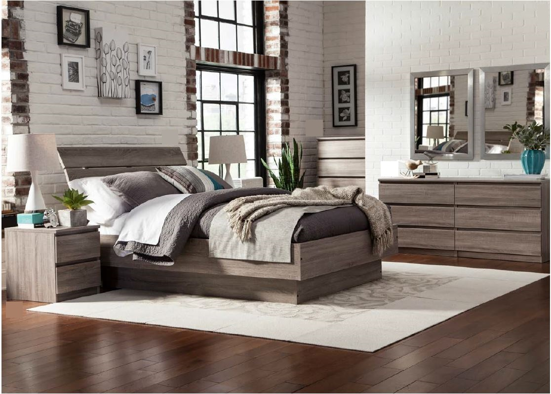 bettgestell naia bett 160 x 200 cm eiche struktur schlafen betten. Black Bedroom Furniture Sets. Home Design Ideas