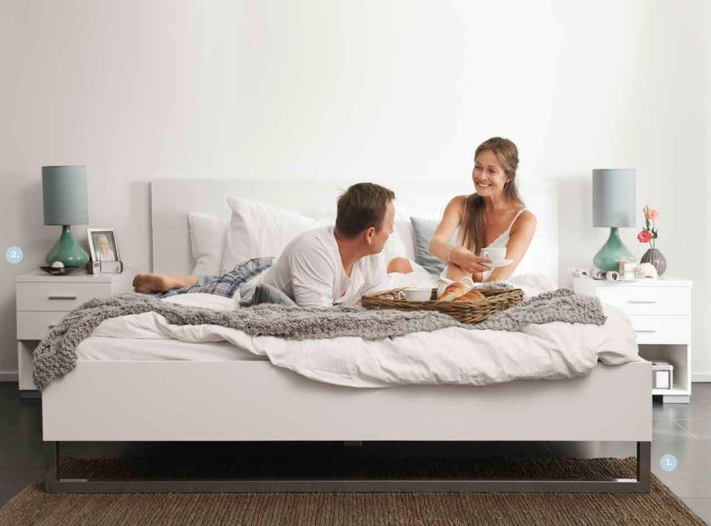 bettgestell style bett 160 x 200 cm eiche struktur schlafen betten. Black Bedroom Furniture Sets. Home Design Ideas