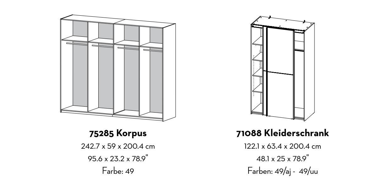 schubladen 3 stk verona schubladenseinsatz f r. Black Bedroom Furniture Sets. Home Design Ideas