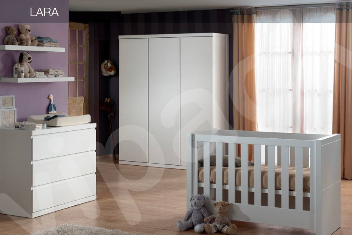kojenbett lara kinderbett funktionsbett wei ebay. Black Bedroom Furniture Sets. Home Design Ideas