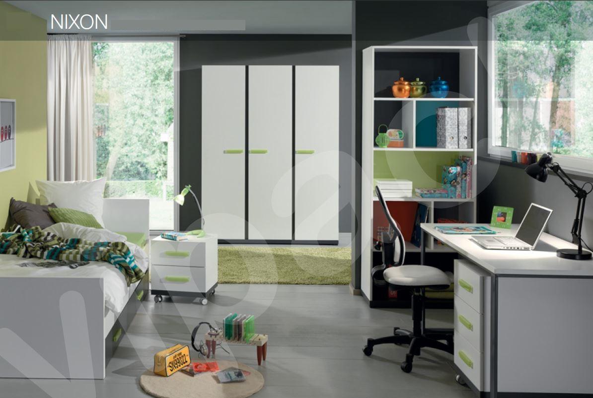 Schreibtisch nixon kinderschreibtisch tisch jugendzimmer wei for Jugendzimmer tisch