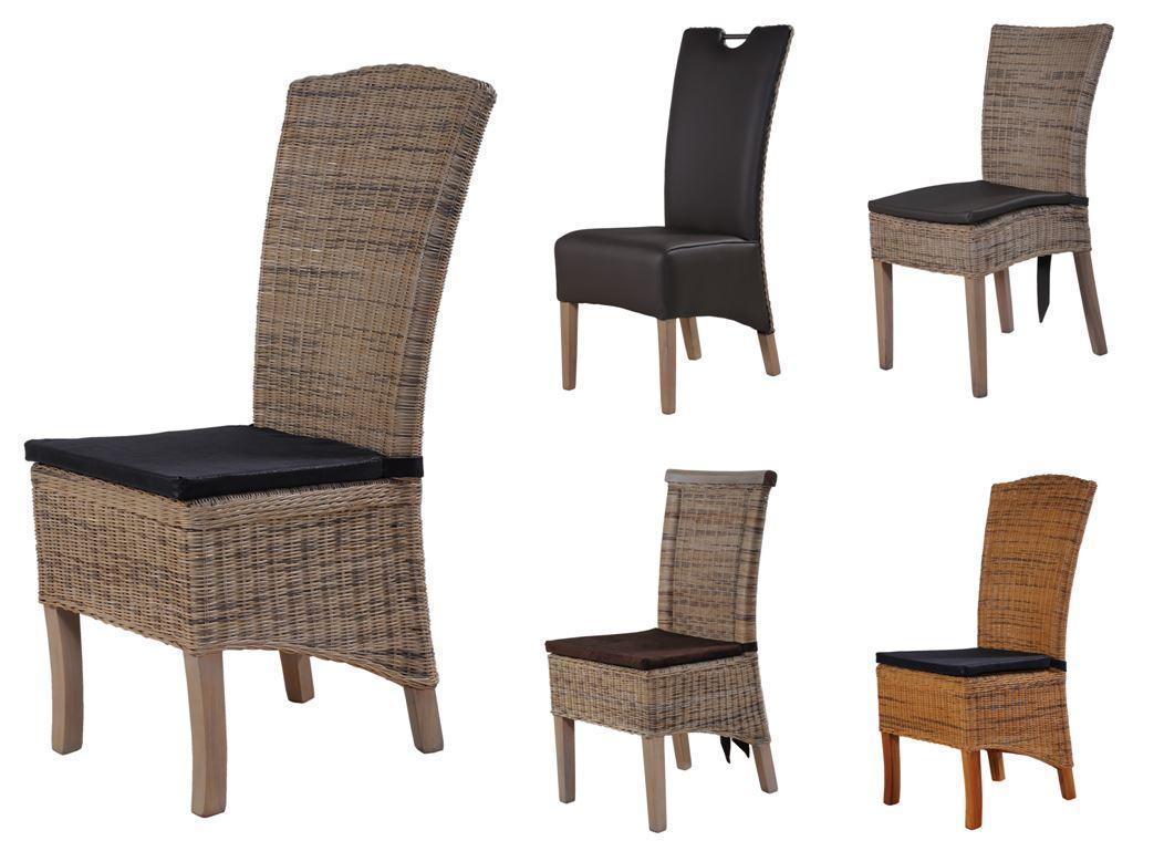 Sonderpreis rattanstuhl c esszimmerstuhl k chenstuhl stuhl for Esszimmerstuhle geflochten
