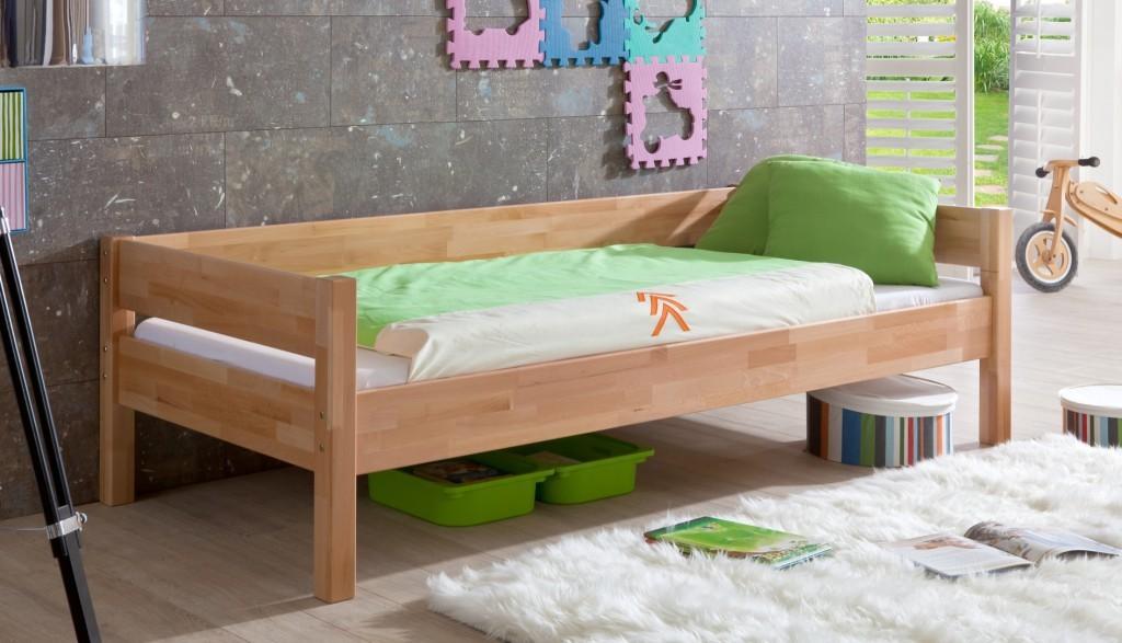 Kinderbett nik jugendbett bett jugendzimmer buche kids for Jugendzimmer naturholz