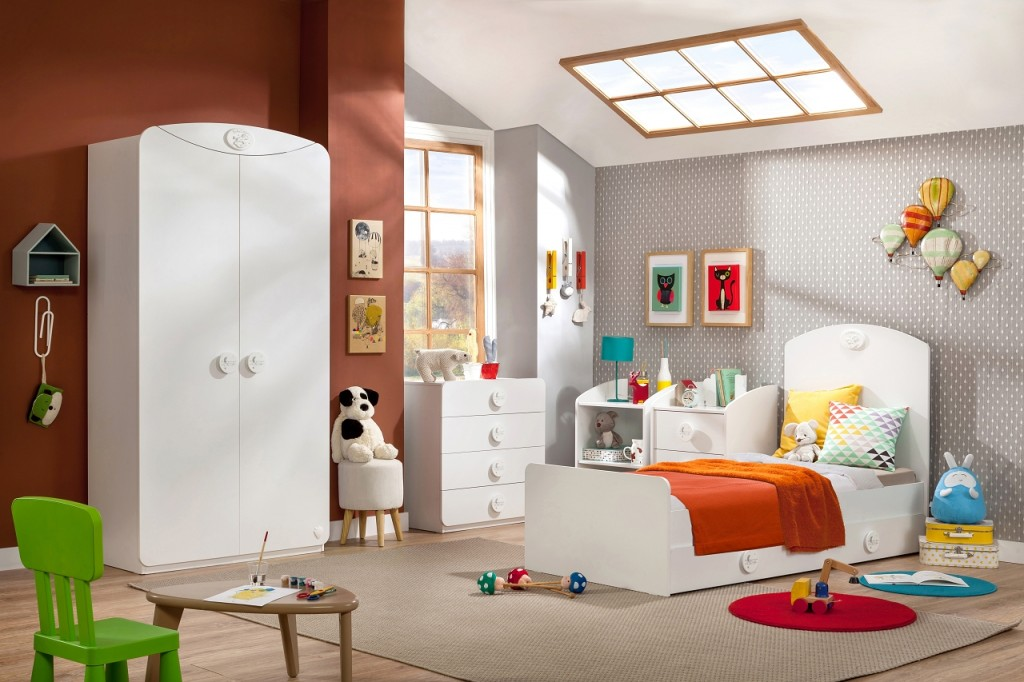 cilek baby cotton kleiderschrank schrank kinderzimmer wei kids teens kleiderschr nke. Black Bedroom Furniture Sets. Home Design Ideas