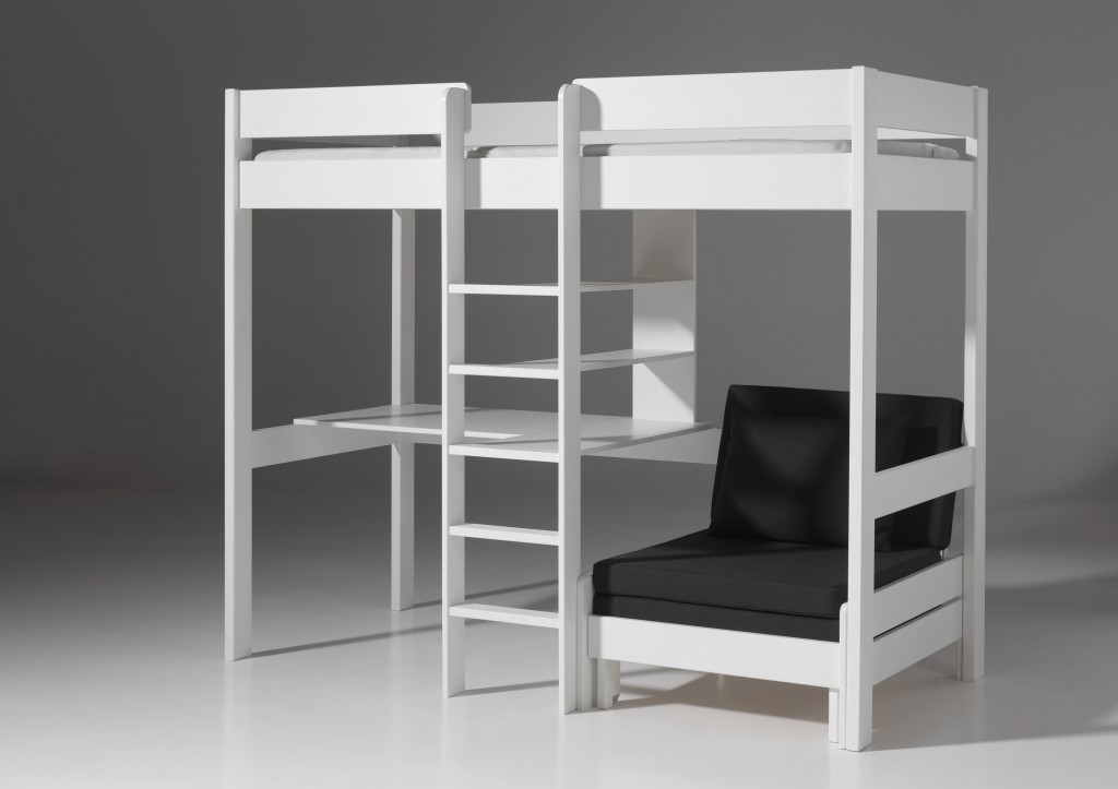 multifunktionsbett pino hochbett etagenbett spielbett. Black Bedroom Furniture Sets. Home Design Ideas