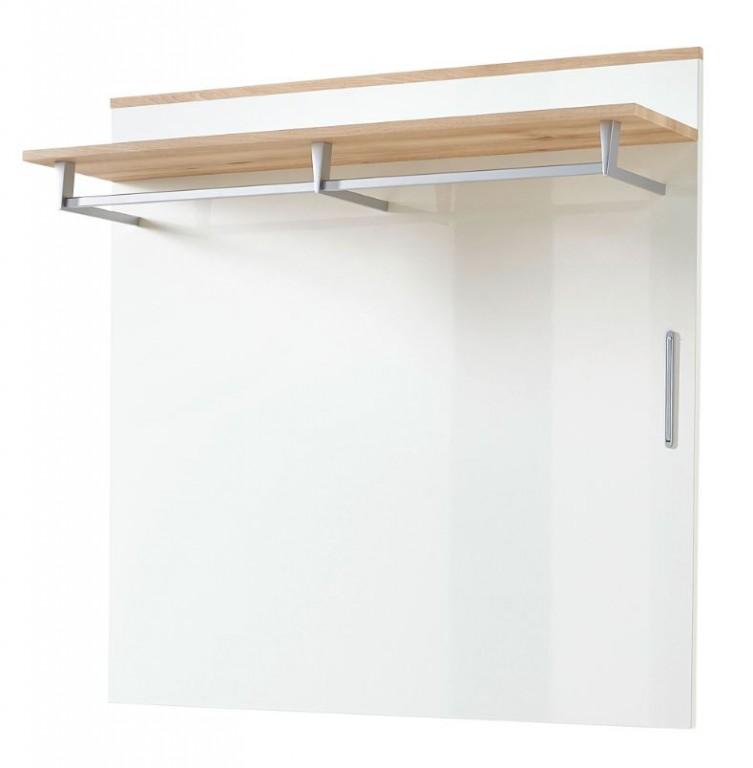 Kingston garderobenpaneel paneel wandgarderobe wandpaneel for Garderobenpaneel grau