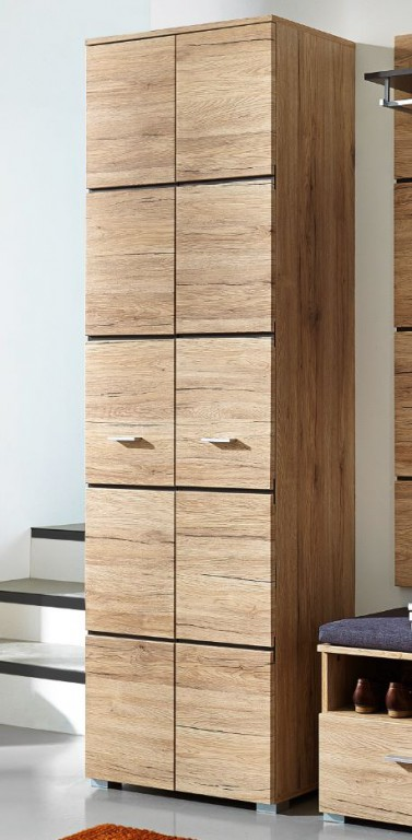 fresh garderobenschrank dielenschrank garderobe schrank. Black Bedroom Furniture Sets. Home Design Ideas