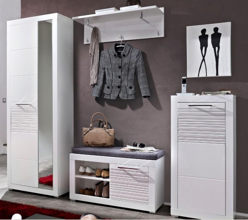 Life garderoben kombination garderobe garderobenschrank for Garderobenschrank set