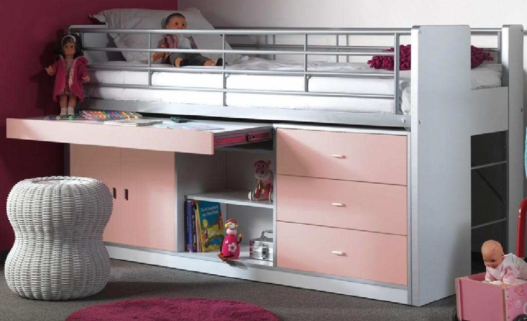 multifunktionsbett bonny kinderbett bett funktionsbett. Black Bedroom Furniture Sets. Home Design Ideas