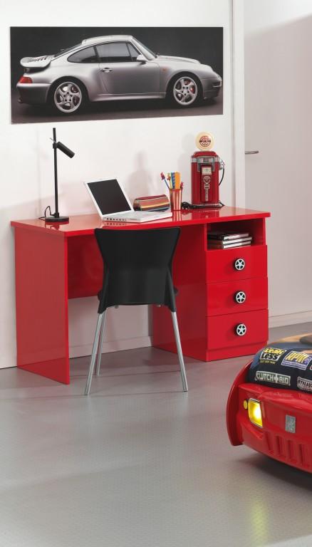 Schreibtisch monza kinderschreibtisch tisch rot kids for Schreibtisch teenager