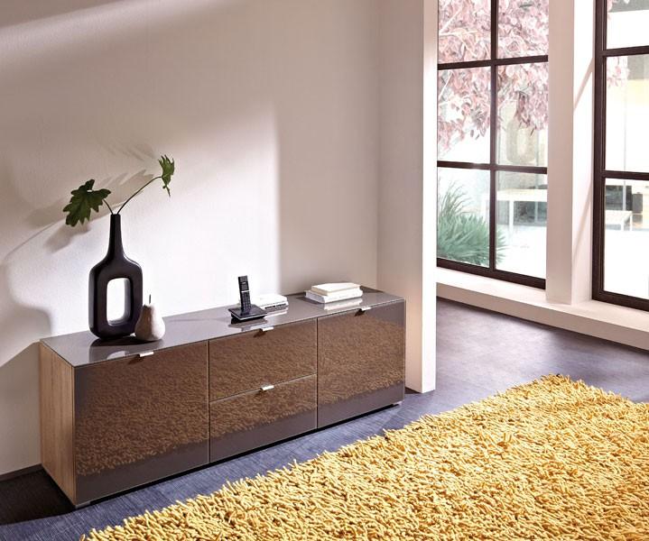sideboard gabi kommode lowboard tv bank schrank sonoma. Black Bedroom Furniture Sets. Home Design Ideas