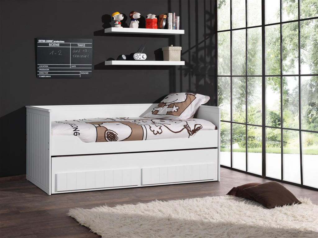 kojenbett robin kinderbett schubladenbett funktionsbett. Black Bedroom Furniture Sets. Home Design Ideas