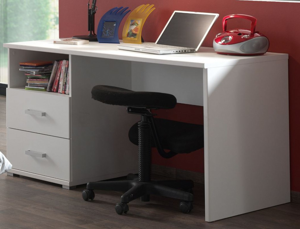 Schreibtisch milan kinderschreibtisch tisch wei kids for Schreibtisch teenager