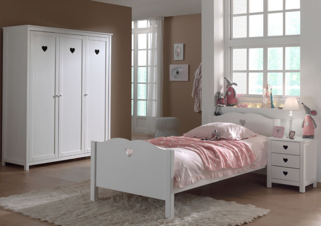 kinderzimmer set amori bett kinderbett schrank. Black Bedroom Furniture Sets. Home Design Ideas