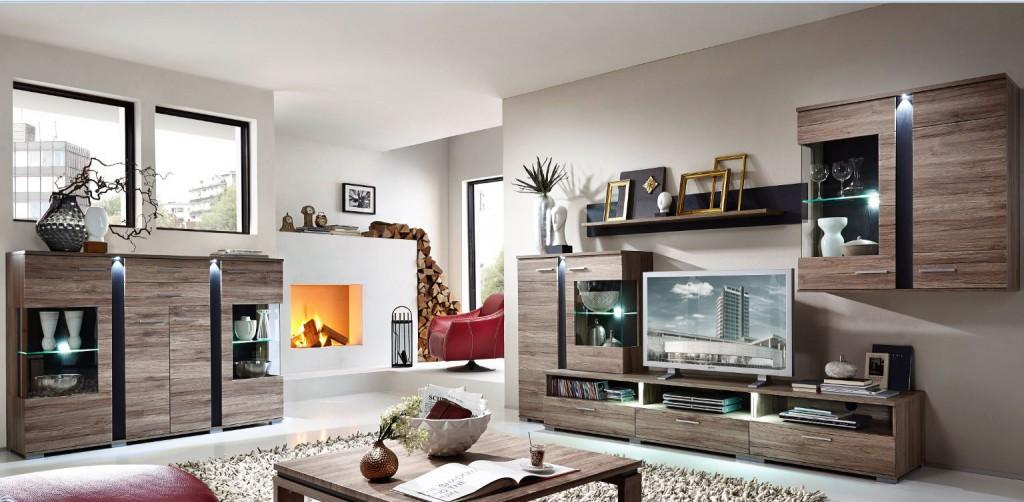 spot wohnkombination tv kombination wohnwand wohnzimmer set sch ner wohnen wohnzimmer sets. Black Bedroom Furniture Sets. Home Design Ideas