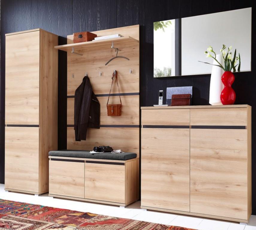 Ikea garderobe mit schuhschrank for Flur garderoben modern