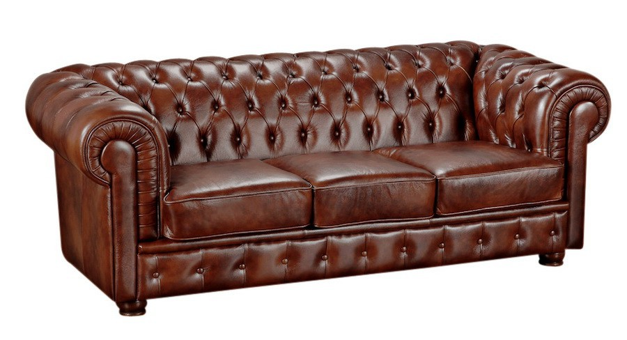 nottingham sofagarnitur chesterfield couchgarnitur sofa leder braun polsterm bel chesterfield. Black Bedroom Furniture Sets. Home Design Ideas