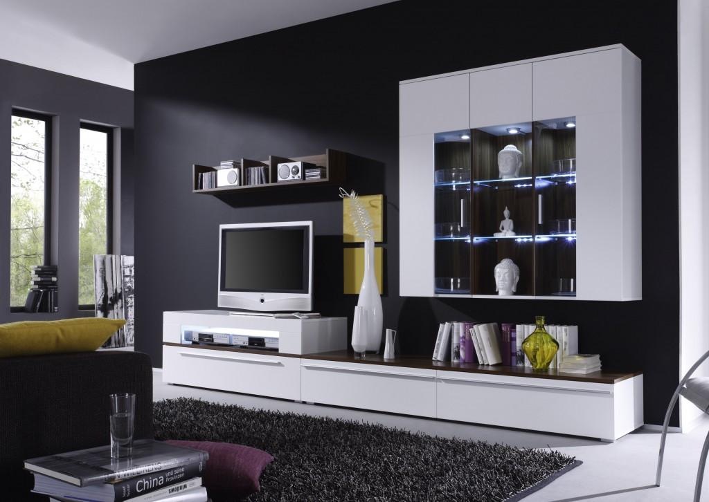 Beleuchtung fur wohnzimmerschrank online kaufen for Wohnwand fiesta